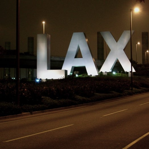 Photo taken at Los Angeles International Airport (LAX) by Cynthia L. on 11/2/2013