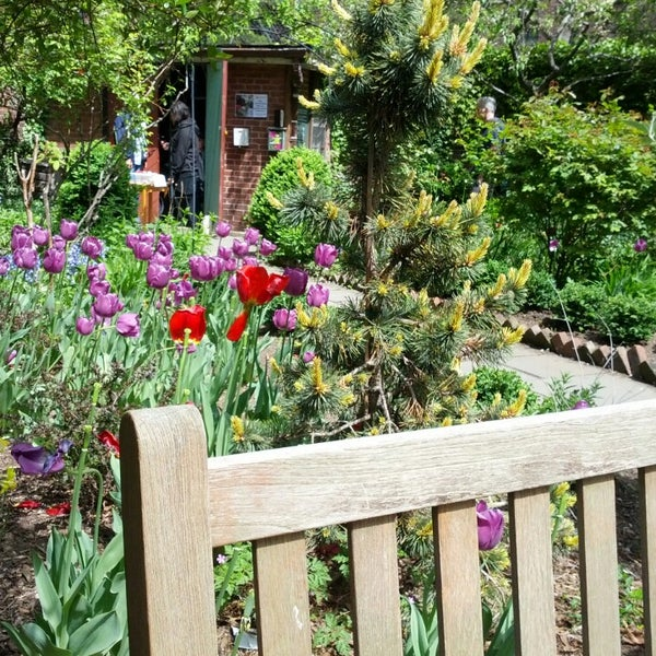 Photo taken at The Garden at St. Luke in the Fields by Ryan W. on 5/5/2013