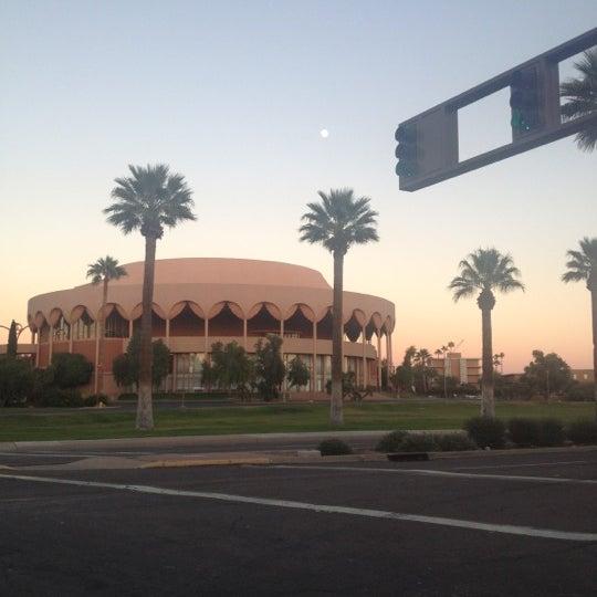 Photo taken at ASU Gammage by Davin M. on 11/26/2012