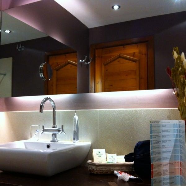 Photo taken at Hotel Grevol Spa & Wellness Llanars by Israel J. on 1/12/2014