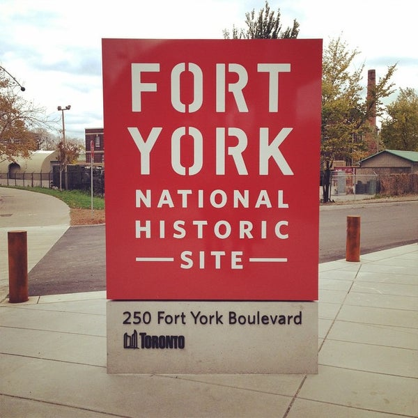Photo taken at Fort York by Lee D. on 10/26/2014