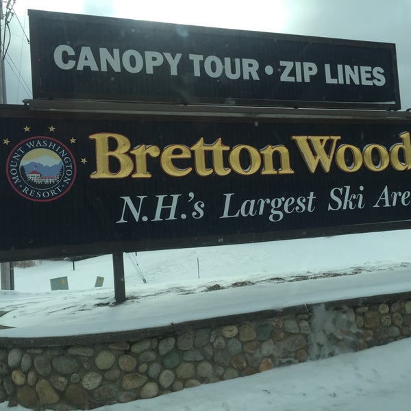 Photo taken at Bretton Woods by Meshi D. on 1/21/2016