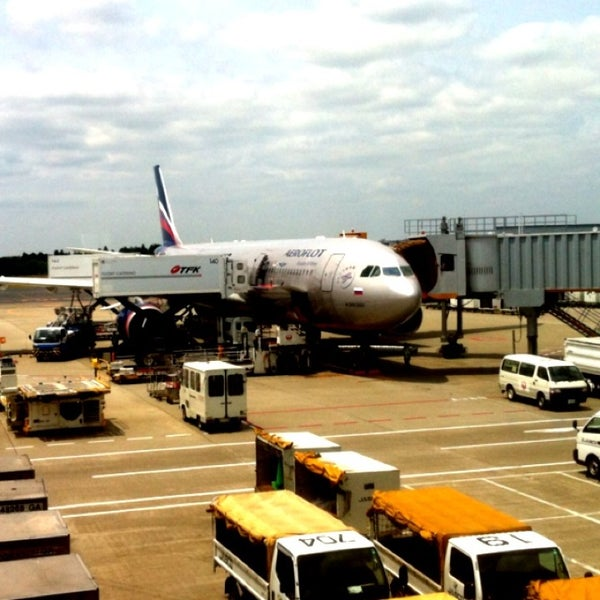 Photo taken at Narita International Airport (NRT) by Dmitry S. on 5/27/2013