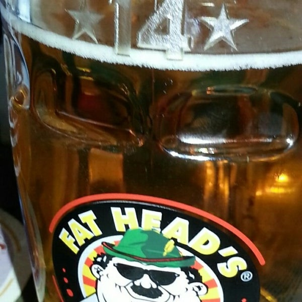 Photo taken at Fat Head's Brewery & Saloon by John R. on 3/11/2014