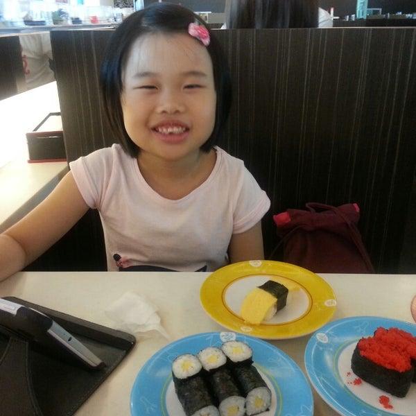 Photo taken at Sakae Sushi by Sandy O. on 6/29/2014