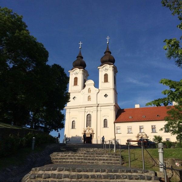 Photo taken at Tihanyi Apátság by [Zoky] on 5/10/2014