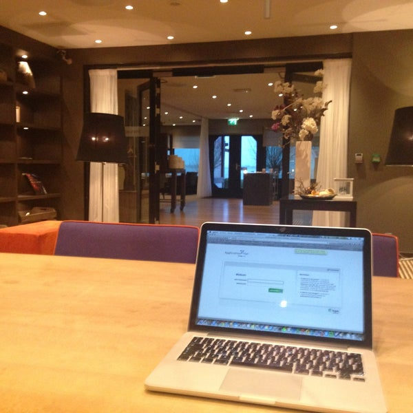 Photo taken at Postillion Hotel Amersfoort Veluwemeer by Christian B. on 4/23/2013