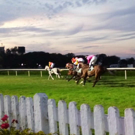 Photo taken at Mahalaxmi Race Course (Royal Western India Turf Club) by GB L. on 2/21/2016