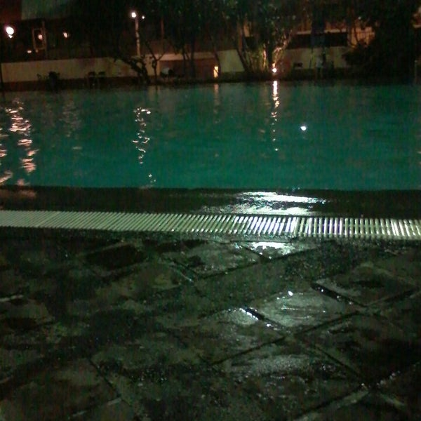 Photo taken at Graha Residence Swimming Pool by Okne Putri A. on 5/1/2014