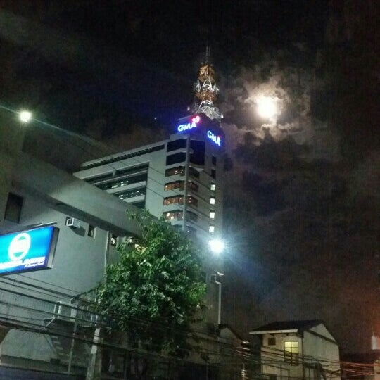 Photo taken at GMA Network Center by Joe K. on 7/5/2015