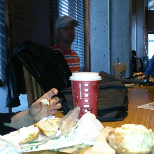 Photo taken at Starbucks by Anna S. on 12/1/2013