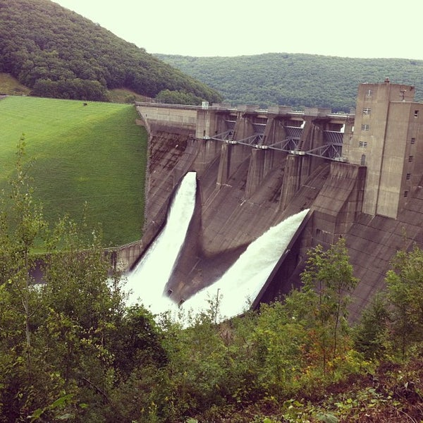 Photo taken at Kinzua Dam by Chris C. on 9/8/2013