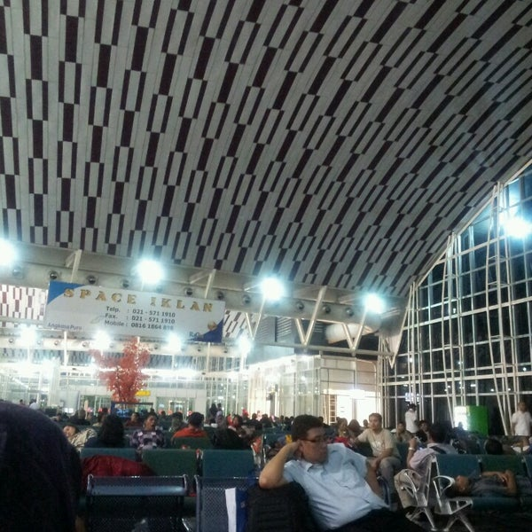 Photo taken at Sultan Hasanuddin International Airport (UPG) by Krisna A. on 4/24/2013