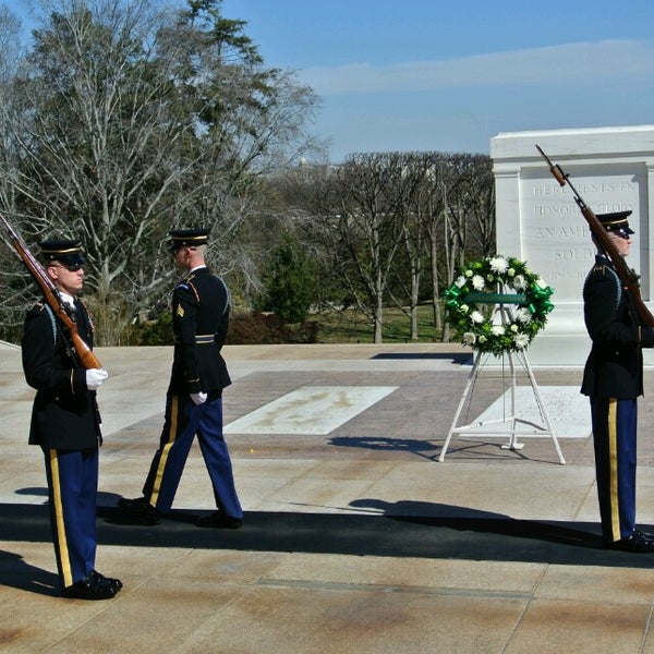 Photo taken at Arlington National Cemetery by eshigeny2008 on 3/14/2014