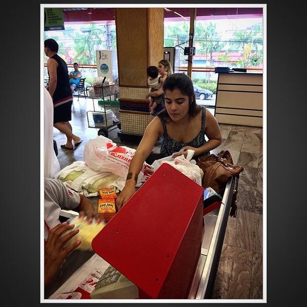 Photo taken at Supermercados Nazaré by Victor E. on 6/14/2015