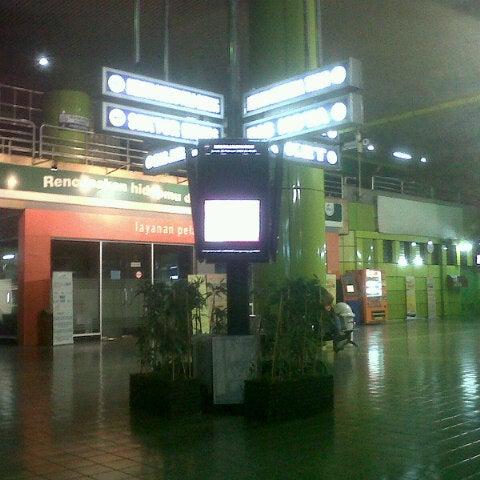 Photo taken at Stasiun Gambir by Galih C. on 2/22/2013