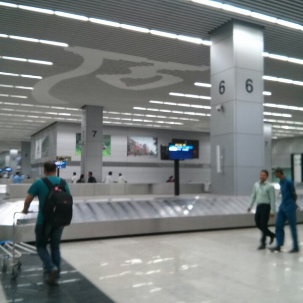 Photo taken at Netaji Subhash Chandra Bose International Airport (CCU) by Saurabh S. on 4/10/2013