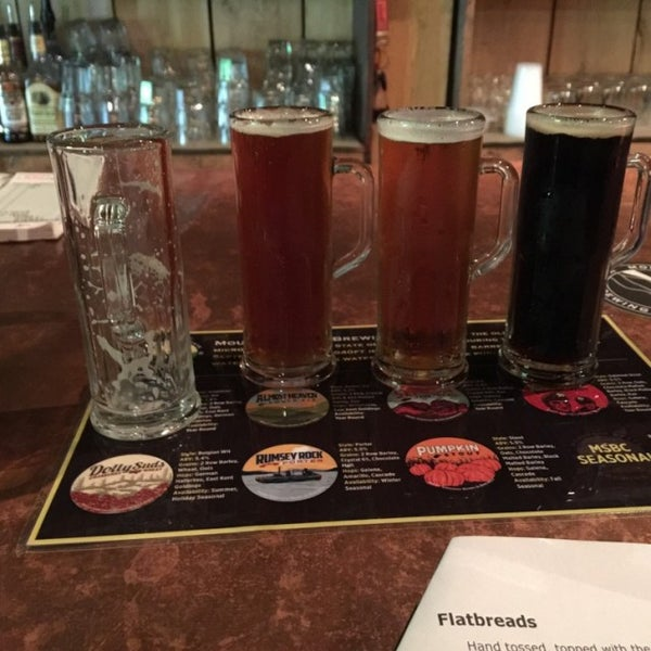 Photo taken at Mountain State Brewing Co. by Angela M. on 9/24/2016