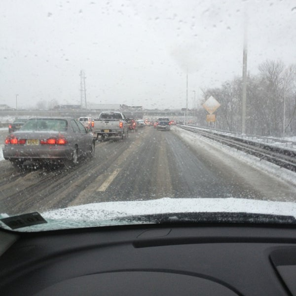 Photo taken at Garden State Parkway -- Saddlebrook by Adrienne P. on 2/8/2013