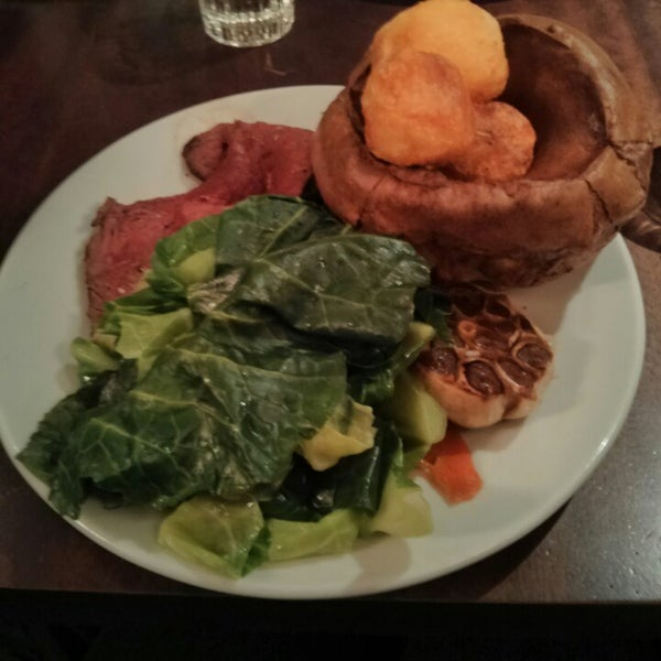 Photo taken at Hawksmoor by Maria C. on 4/20/2014