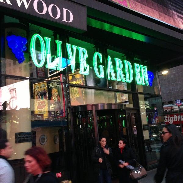 Olive Garden Italian Restaurant In Theater District