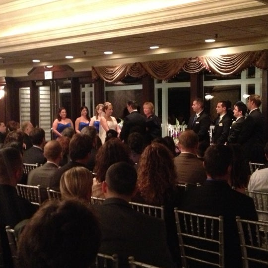 Photo taken at Quidnessett Country Club by Emily C. on 11/24/2012