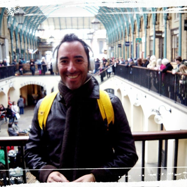 Photo taken at Covent Garden Market by Pedro S. on 3/7/2014
