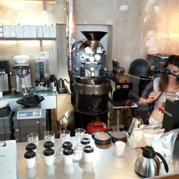 Photo taken at Bonanza Coffee by Emil H. on 4/26/2013