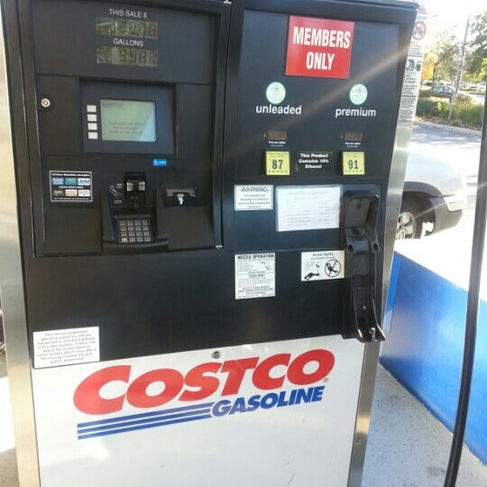 how to put gas at costco
