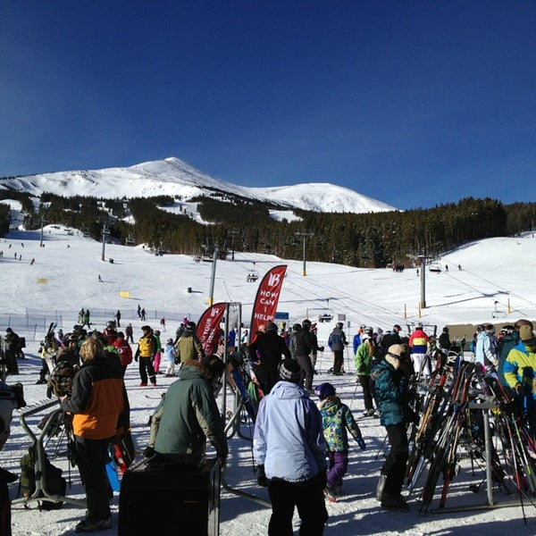 Photo taken at Breckenridge Ski Resort by William R. on 12/30/2012