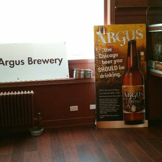 Photo taken at Argus Brewery by K. K. on 1/16/2016