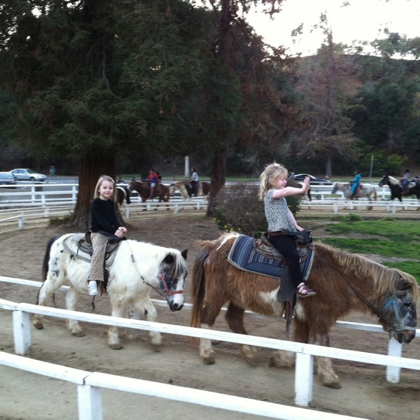 Photo taken at Griffith Park Pony Rides by Joe D. on 12/29/2013