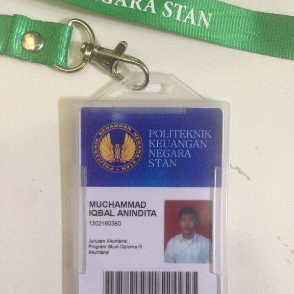Photo taken at Sekolah Tinggi Akuntansi Negara (STAN) by Iqbal A. on 9/29/2016