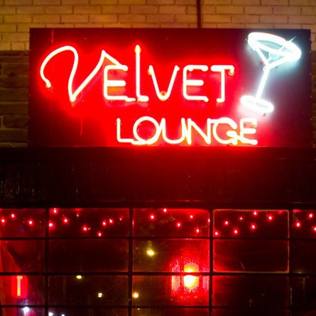 Photo taken at Velvet Lounge by BROADS on 4/30/2013