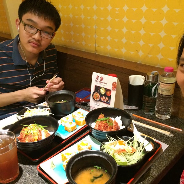 Photo taken at Teriyaki Boy by Michael R. on 12/27/2015