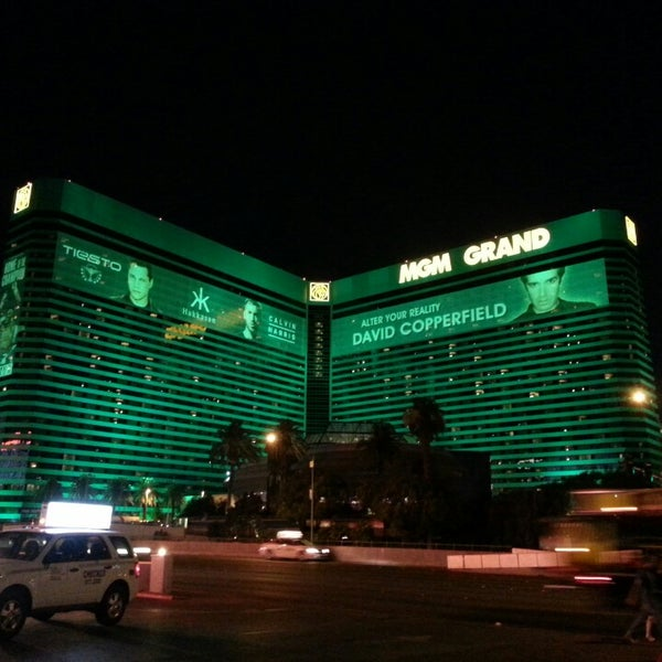Photo taken at MGM Grand Hotel & Casino by Diego R. on 6/24/2013