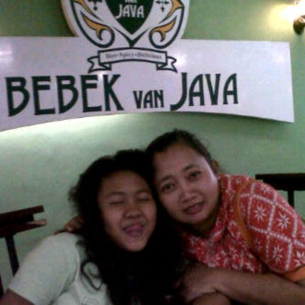 Photo taken at Bebek Van Java by shavira wijayanti C. on 2/3/2013