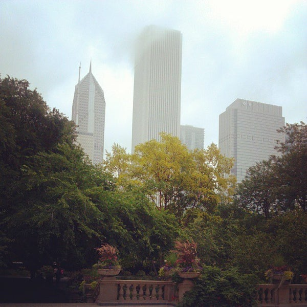 Photo taken at Sculpture Garden - Art Institute of Chicago by Kimberly P. on 7/31/2013