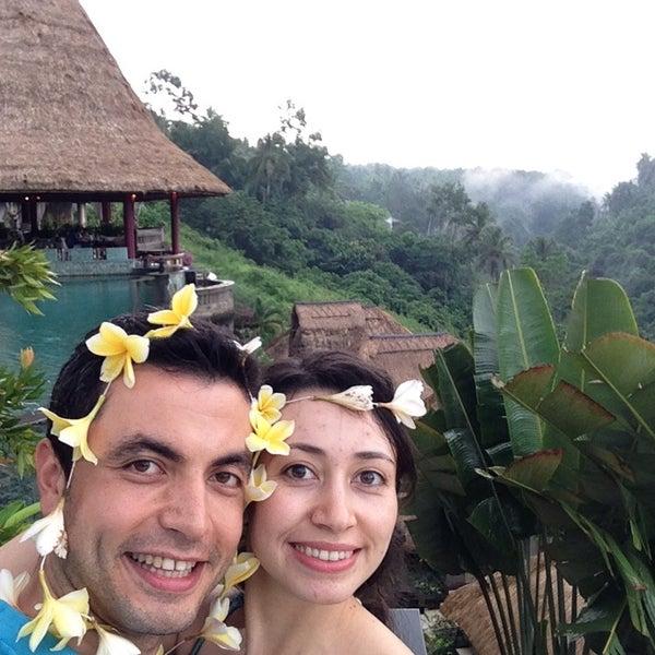 Photo taken at Viceroy Bali by Ezgi on 4/27/2015