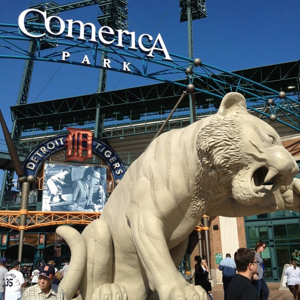 Photo taken at Comerica Park by Jose A. on 7/12/2013