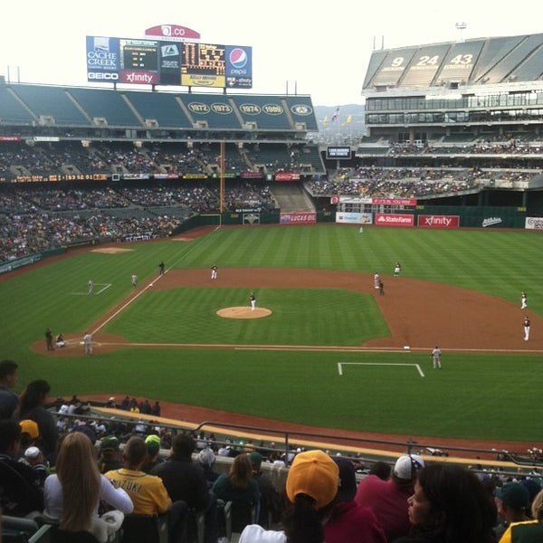Photo taken at O.co Coliseum by Joe S. on 6/12/2013
