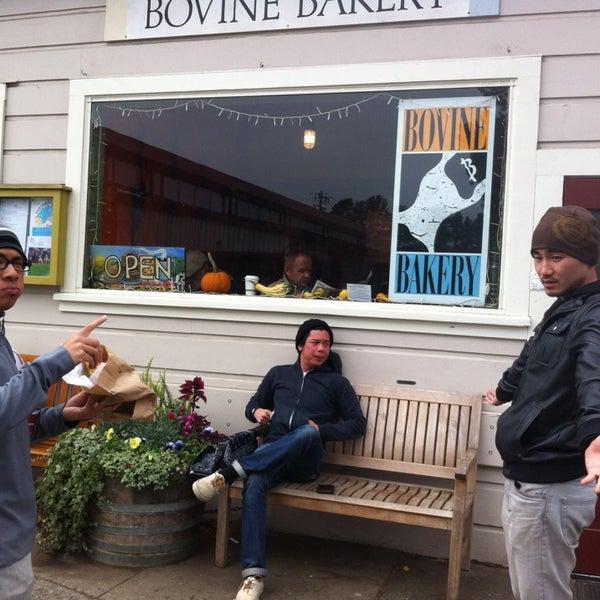 Photo taken at Bovine Bakery by Brandon V. on 9/13/2013