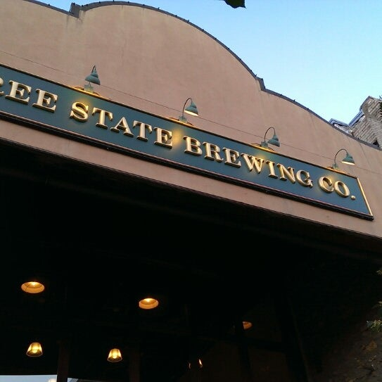Photo taken at Free State Brewing Company by Holly G. on 6/18/2013