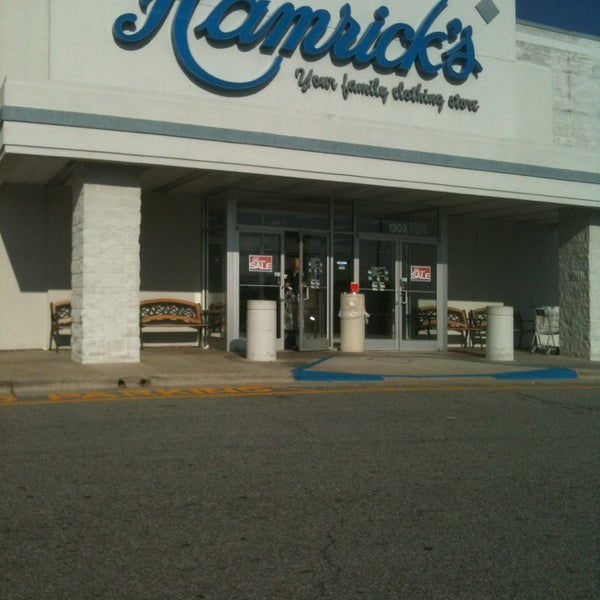 Hamricks clothing store locations