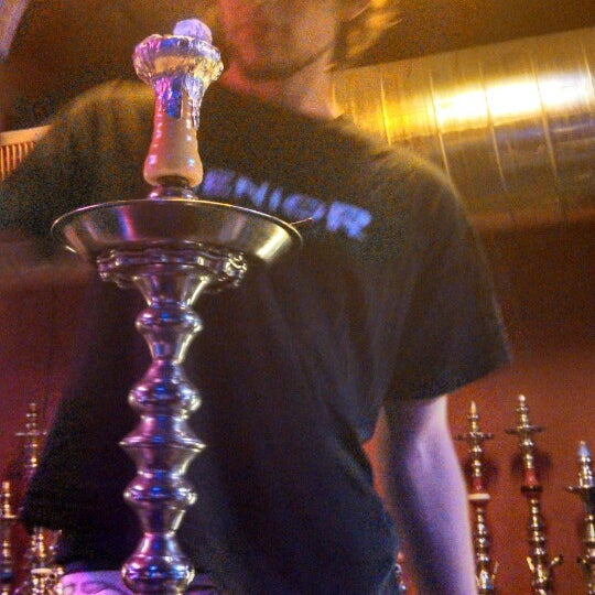 Photo taken at Sahara Nights Hookah Lounge by Tia D. on 6/15/2013