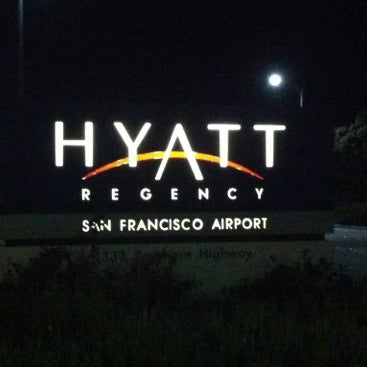 Photo taken at Hyatt Regency San Francisco Airport by Masashi S. on 10/8/2012