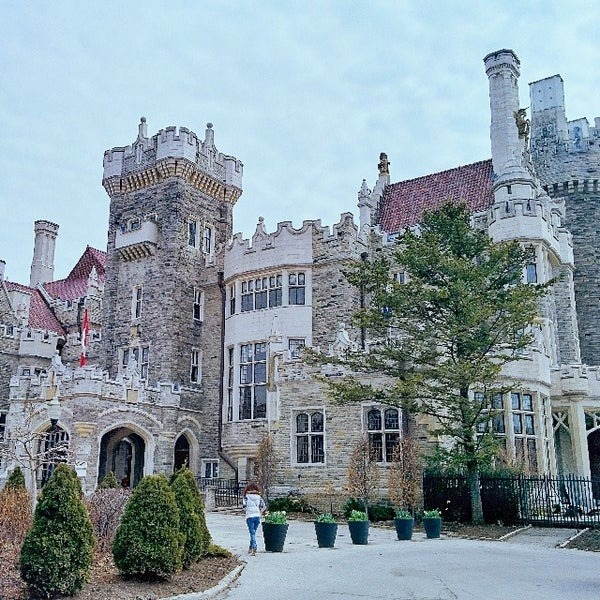 Photo taken at Casa Loma by Aleksey K. on 4/13/2014