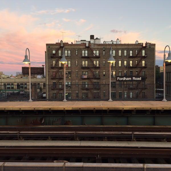 Photo taken at MTA Subway - Fordham Rd (4) by Alex on 10/9/2016