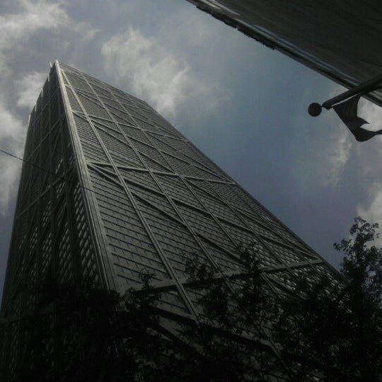 Photo taken at John Hancock Center by Dragan N. on 6/11/2013