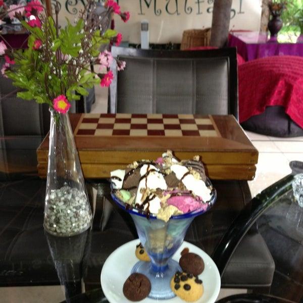 Photo taken at Sevgi Cafe by Filiz 😊 on 6/17/2013